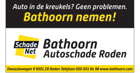bordenwand Bathoorn Autoschade