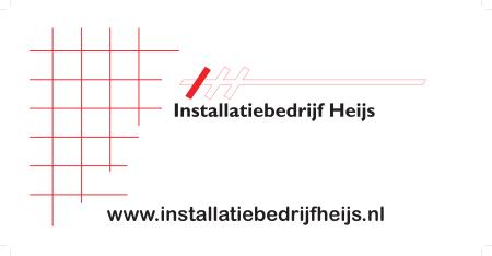 bordenwand Heijs Installatiebedrijf
