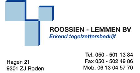 Roossien Lemmen - Tegelzetbedrijf