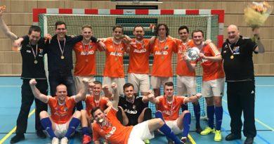 Eerste thuiswedstrijd Futsal ONR 1 vrijdag 13 september